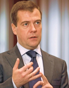 medvedev2 236x300 Theos Twit Of The Week: Dmitry Medvedev