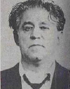 A Chicago Police mugshot of Sam DeStefano.